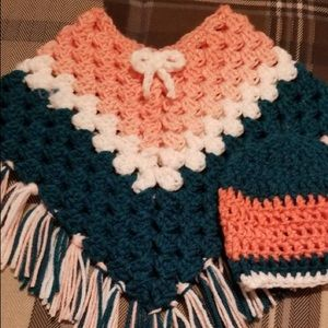 Other - INFANT SWEATER PONCHO